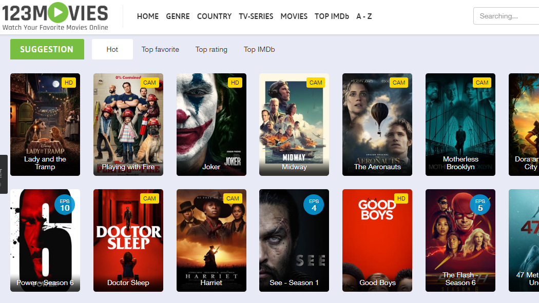 Top 10 best 123Movies Alternatives for 2020