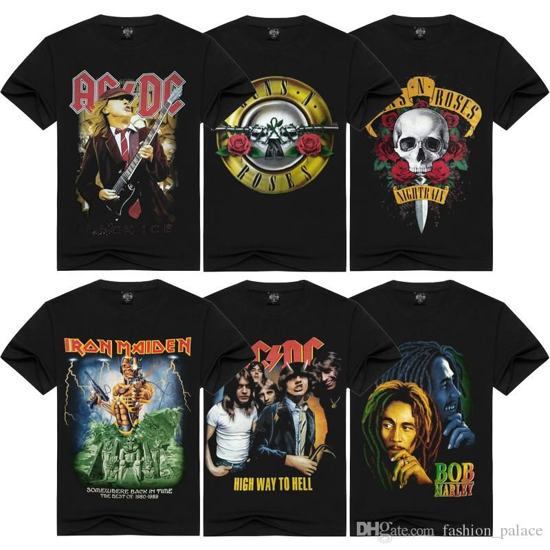 TOP 5 Classic Rock T-shirts of 2021 [From Redbubble]