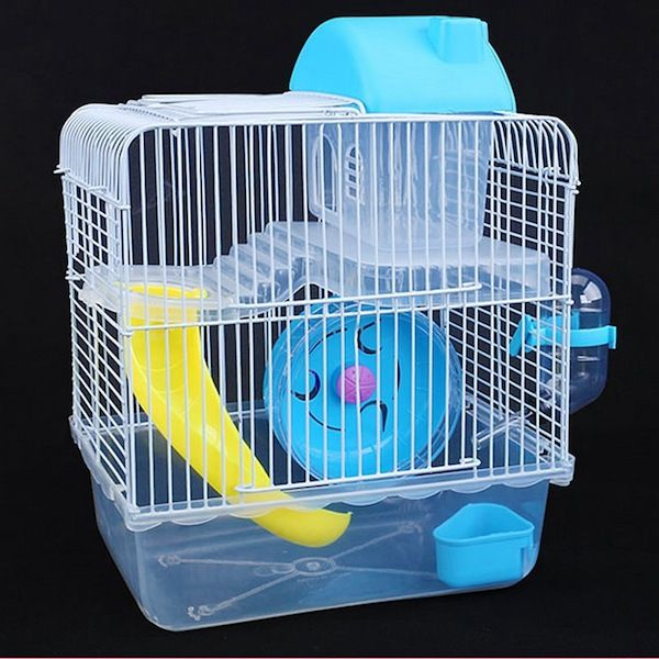 Two-storey Hamster cage