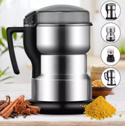Electric grinder for coffee, grains, beans