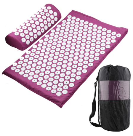 Massage mat for yoga and acupuncture