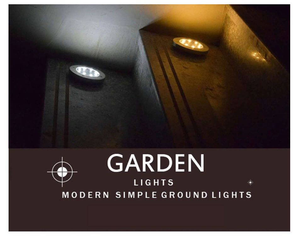 Modern simple ground light