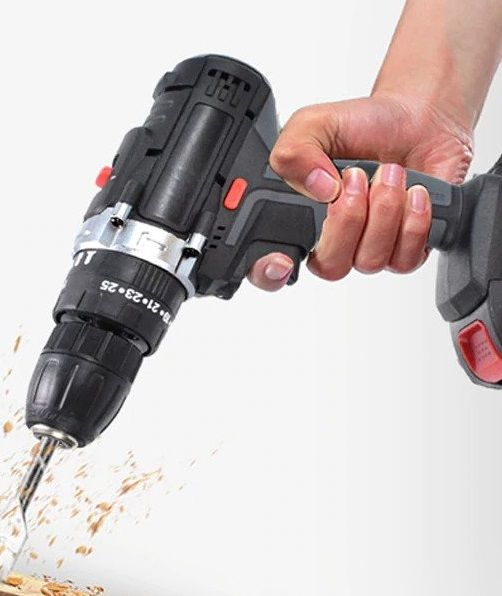 Electric cordless impact drill