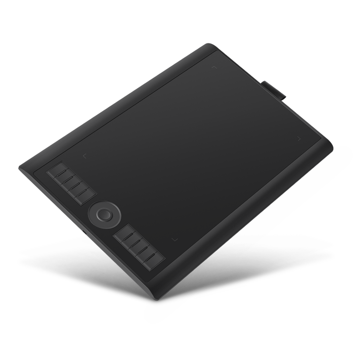 GAOMON M10K graphic tablet with battery-free stylus