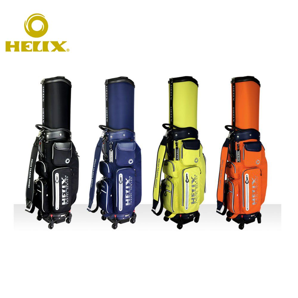 Helix golf bag with wheels