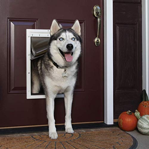 PetSafe Extreme Weather Energy Efficient Pet Door - 3 Flap System - For Large Dogs Up to 100 lb