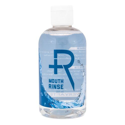 Recovery Oral Piercing Aftercare Sea Salt Mouth Rinse - Alcohol Free Healing Solution Saline Mouthwash, 8 Ounces