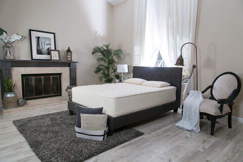 100% Natural springless layered mattress by Latex for Less